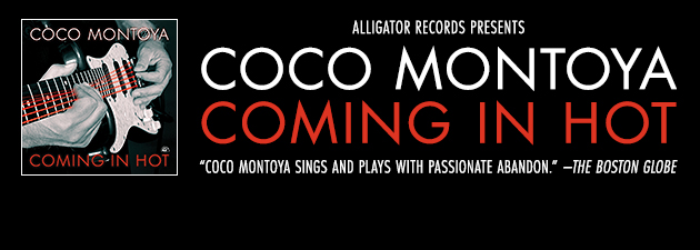 COCO MONTOYA|Icy-hot blues-rock guitar and potent, soulful vocals