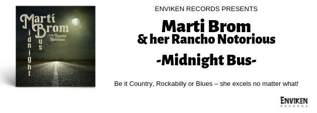 MARTI BROM & HER RANCHO NOTORIOUS|The Texas songbird's first album since 2010!!