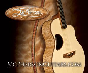 McPherson acoustic guitars. Custom made guitars by McPherson Guitars.