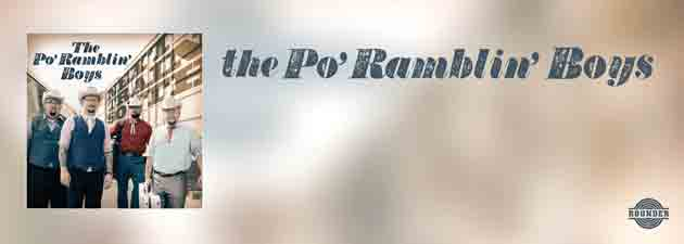 PO' RAMBLIN' BOYS|Brand new single from IBMA's Emerging Artist of the Year nominees