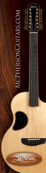 McPherson 12 string acoustic guitar