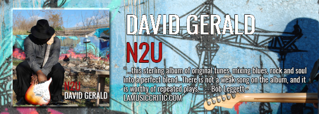 DAVID GERALD|Waiting eight years for 'N2U' was more that worth! - Eric Schuurmans