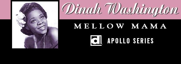 DINAH WASHINGTON|Featuring Lucky Thompson, Milt Jackson, and Charles Mingus.