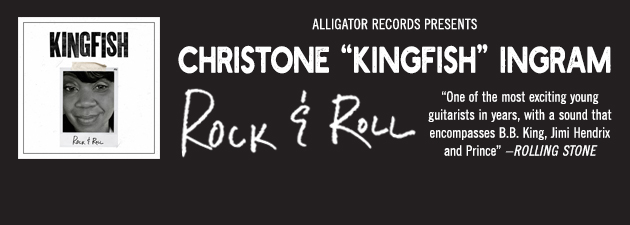 """CHRISTONE """"KINGFISH"""" INGRAM Young blues superstar delivers soulful new ballad"""