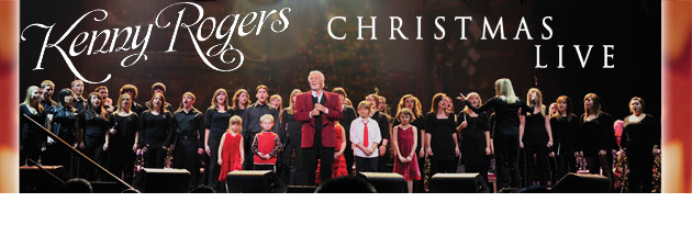 KENNY ROGERS Country Music Icons first LIVE Christmas album