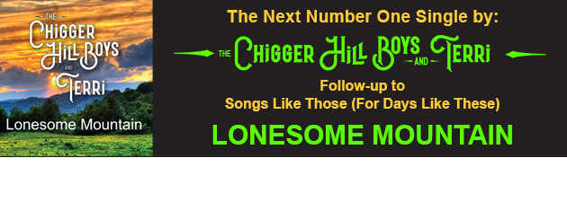 CHIGGER HILL BOYS & TERRI|GENRE BUSTER - Country - Bluegrass - Gospel  - Americana - Folk