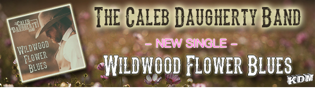 THE CALEB DAUGHERTY BAND|New Single from a band that is currently making some Big Waves!