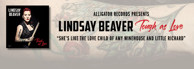LINDSAY BEAVER|Raw Blues, R&B and old school rock 'n' roll with punk rock energy