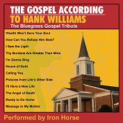 TRIBUTE HANK WILLIAMS Gospel/Bluegrass
