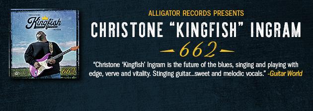 "CHRISTONE ""KINGFISH"" INGRAM|The fiery 22-year-old guitar-slinging, soulful-singing blues sensation"