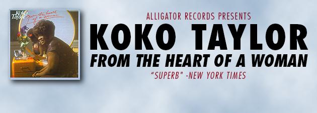 KOKO TAYLOR|When Koko Taylor cuts loose, she rattles the walls
