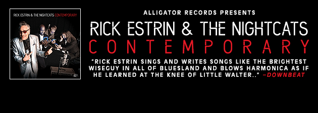 RICK ESTRIN|2018's Blues Music Award Winner for Band Of The Year... wickedly cool